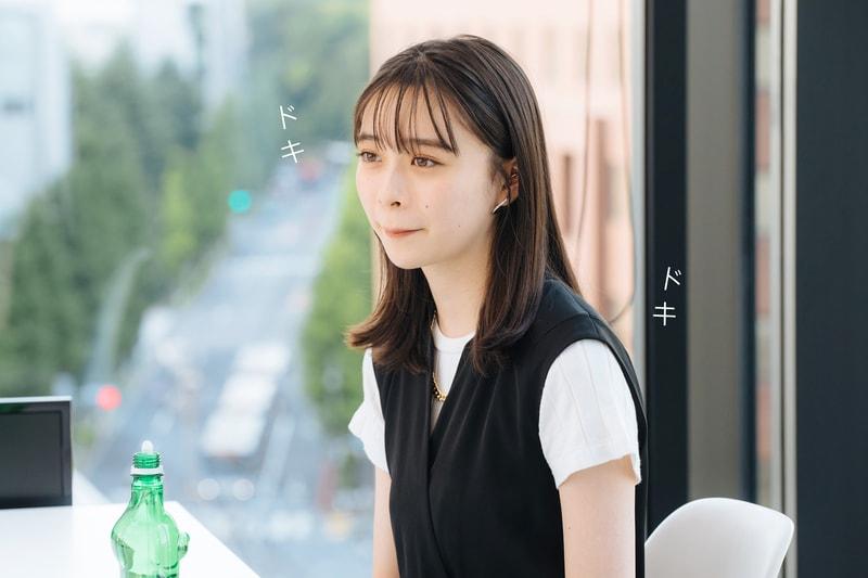 ドキドキ【画像】緊張した様子の田鍋梨々花さん