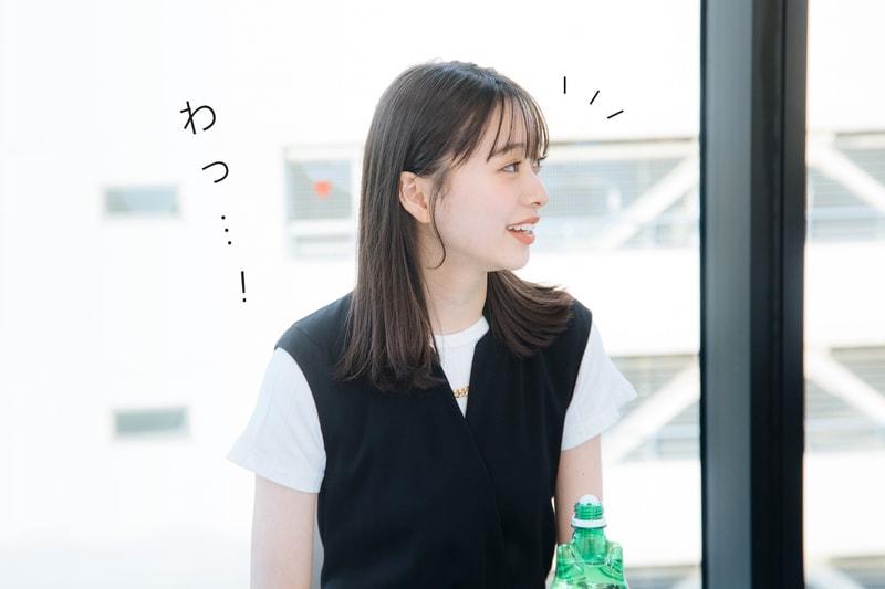 わっ……!【画像】研ナオコさんに気がつく田鍋梨々花さん