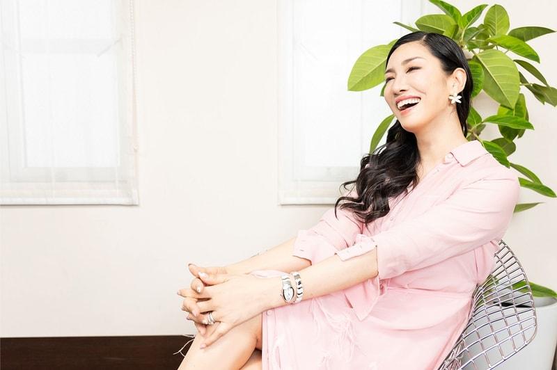 【写真】笑顔のアンミカさん